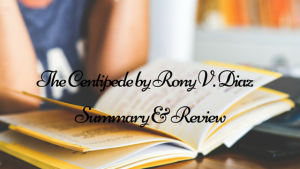 "Summary and Review of ""The Centipede,"" by Rony V. Diaz"