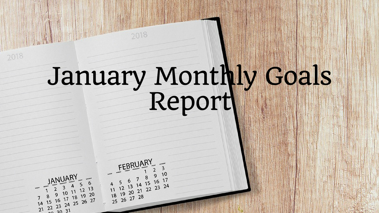January Monthly Goals Report